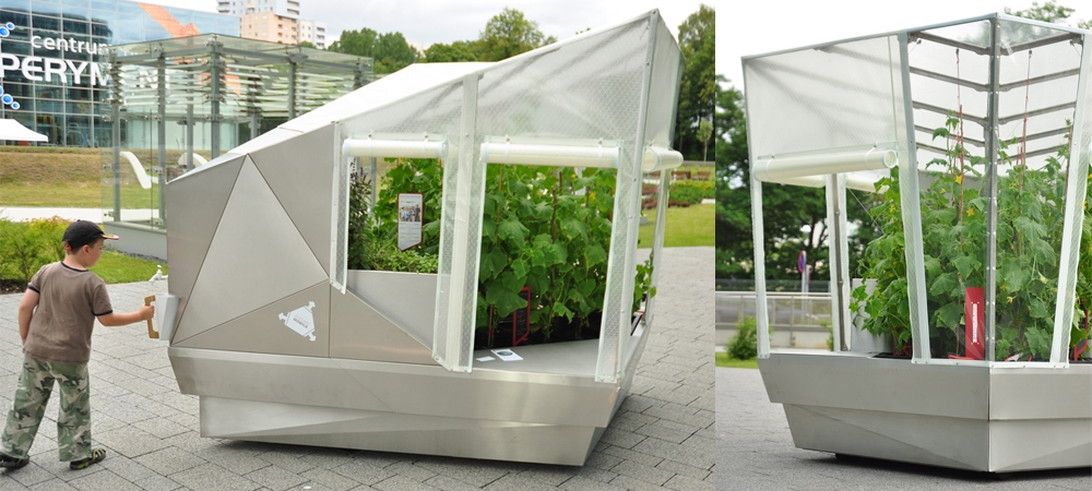 mobile city greenhouse