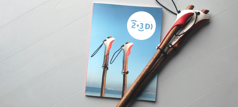 Polish Walking on the cover of 2plus3d magazine